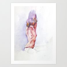 Naked 1 Art Print