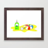 BUBOL BALL Framed Art Print
