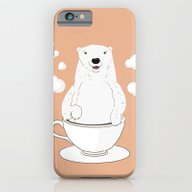 Take A Cup Of Bear iPhone 6 Slim Case