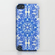 Cobalt Blue & China Whit… iPod touch Slim Case