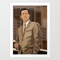 Art Print featuring don //////////////////// by Jordan McLaughlin