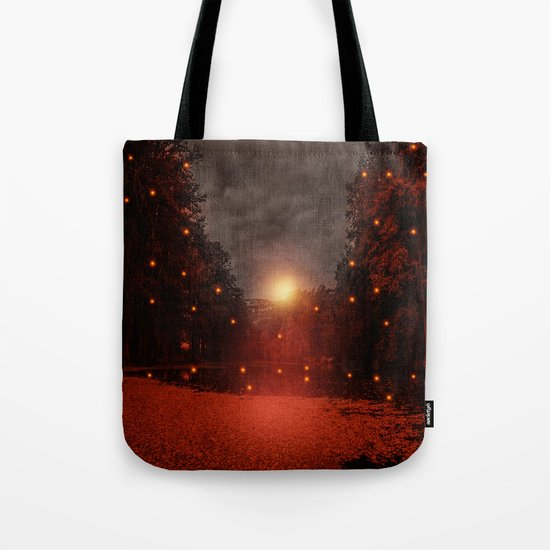 when the light speaks - HOLIDAZE Tote Bag