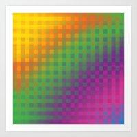 Color Check!  Art Print