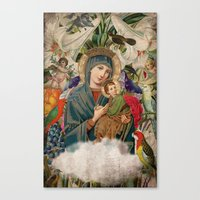 Saints Collection -- Mad… Canvas Print