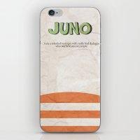 Juno - Alternative Movie Poster iPhone & iPod Skin