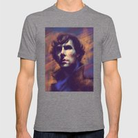 Consulting Detective Mens Fitted Tee Tri-Grey SMALL