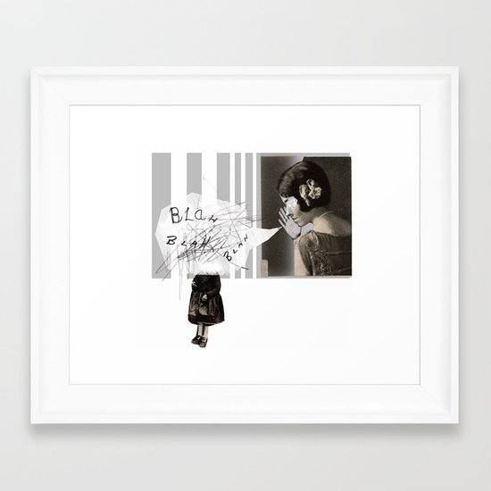 WHITEOUT: Poisoning  Framed Art Print