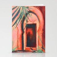 Moroccan Door, Morocco, … Stationery Cards