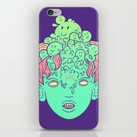 brain parasites iPhone & iPod Skin