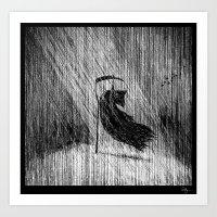 Death Of Death Art Print