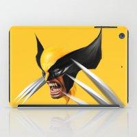BLACK AND YELLOW iPad Case