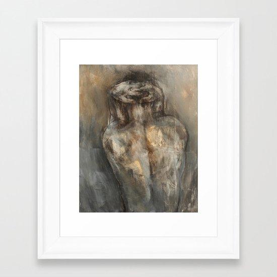 Broken Seal Framed Art Print