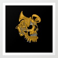 Real Brass Art Print