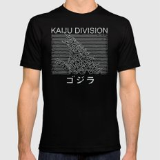 Kaiju Division Mens Fitted Tee Black SMALL