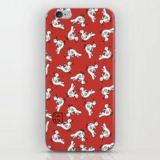 Birds {All birdie around - red} iPhone & iPod Skin