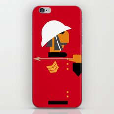The man who would be king iPhone & iPod Skin