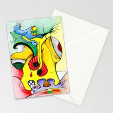 abstract-1 Stationery Cards