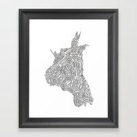 Jack Lenovo Framed Art Print