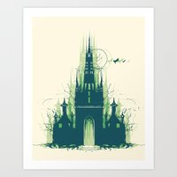 Dizzyney Land Art Print