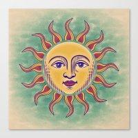 Soleil 2 Canvas Print