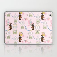 Easter Bunny Factory 12 … Laptop & iPad Skin