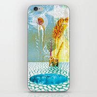 Salatarian EYELAND Lagoo… iPhone & iPod Skin