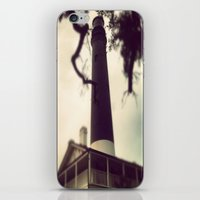 light house iPhone & iPod Skin