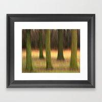 Five of Trees Framed Art Print