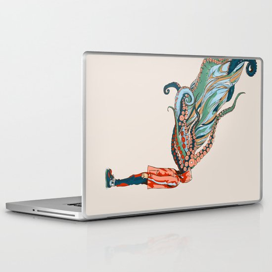 Octopus in me Laptop & iPad Skin