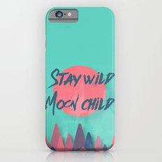 Stay wild moon child (tuscan sun) iPhone 6s Slim Case