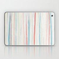 Painterly Stripes Laptop & iPad Skin