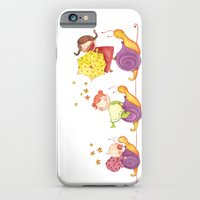 Babies in a snails iPhone 6 Slim Case