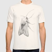 Moth  Mens Fitted Tee Natural SMALL