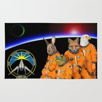 STARFOX - The Lylat Space Program Rug