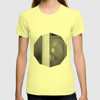 First Impression Womens Fitted Tee Lemon SMALL