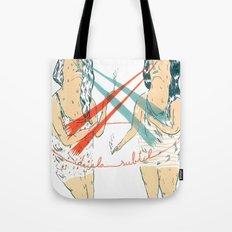 Subtle Duel Tote Bag