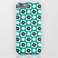 Emerald flower iPhone 6 Slim Case