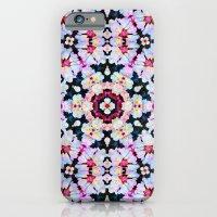 iPhone & iPod Case featuring Kaleidoscope Flowers  by Art, Love & Joy Designs