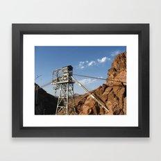 Hoover Dam III Framed Art Print