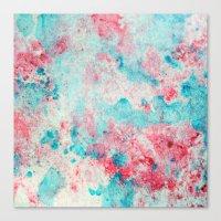 jeu de couleur Canvas Print