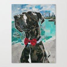 Murphy The Great Dane Canvas Print