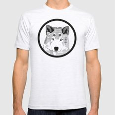 Hippie Wolf Mens Fitted Tee Ash Grey SMALL