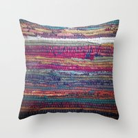 The Magic Carpet Throw Pillow