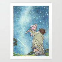 May Your Future Twinkle Art Print