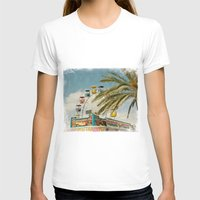 Carnival South Womens Fitted Tee White SMALL