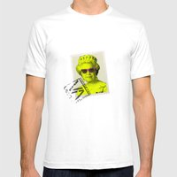 Pop Queen Mens Fitted Tee White SMALL