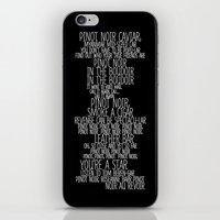 Pinot Noir iPhone & iPod Skin