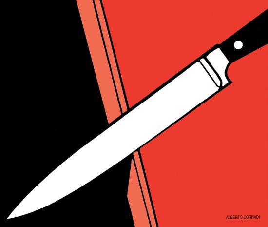 THE KNIFE Art Print