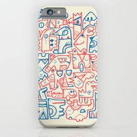 iPhone & iPod Case featuring Tribal Animals by Carolina Carselle