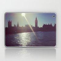 Big Ben Silhouette   Laptop & iPad Skin